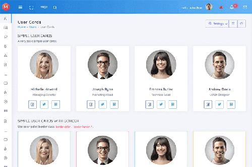 Modern Admin - Clean Bootstrap 4 Dashboard HTML Template