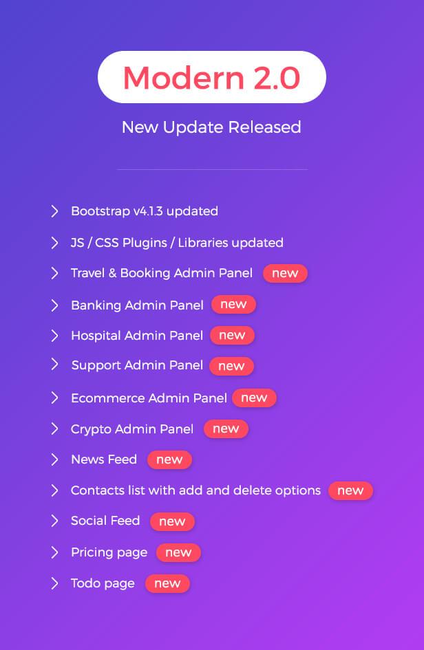 New Update Released