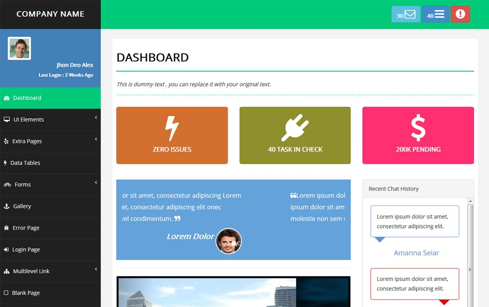 80 best free bootstrap admin templates 2018 for webapp pixinvent