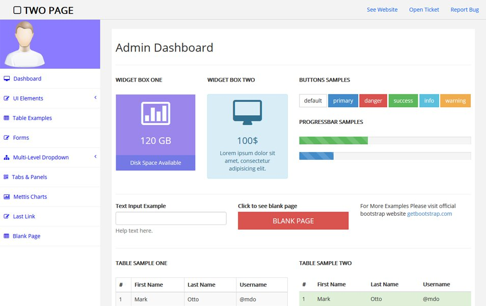 90+ Best Free Bootstrap 4 Admin Dashboard Templates 2019 For WebApp