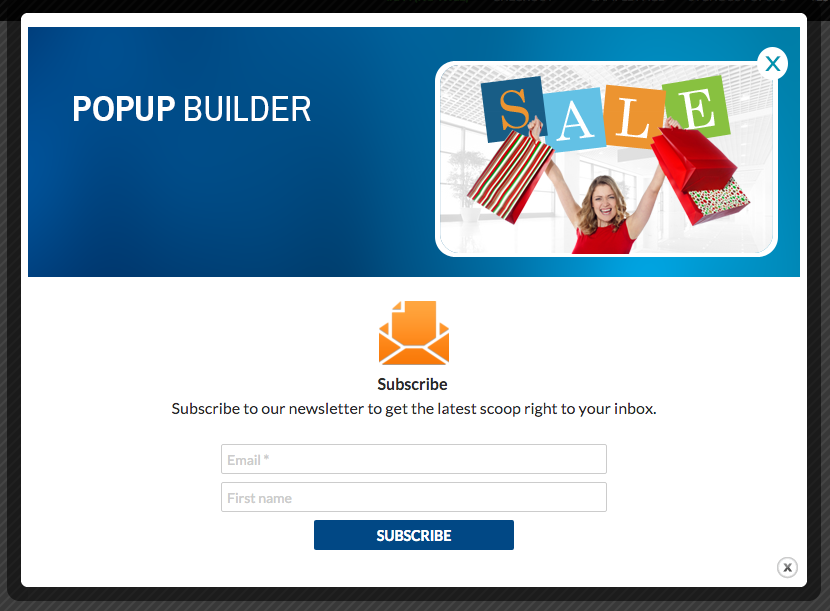 Pop up By Popup Builder